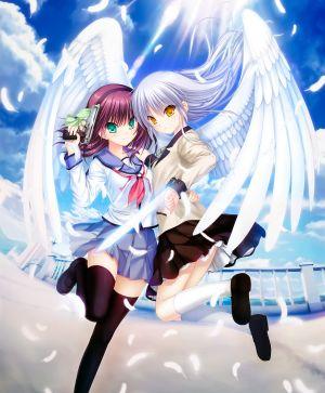 Na-Ga,天使,yurippe,Key社,天使的心跳,制服,黑丝,翅膀