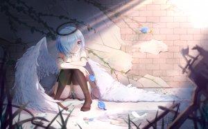 qian_ze_chiz,天使,掀裙,黑丝,翅膀