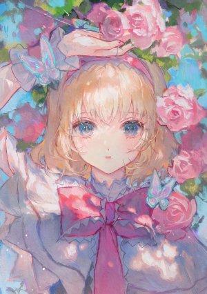 Matcha_,女の子,花,アリス・マーガトロイド,東方project