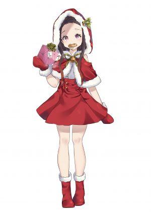 mirei-yume,灶门祢豆子,鬼灭之刃,圣诞节