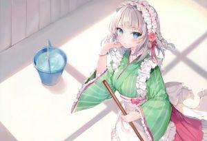 momoko,kiyo,さしみねこ屋,女仆,和服女仆